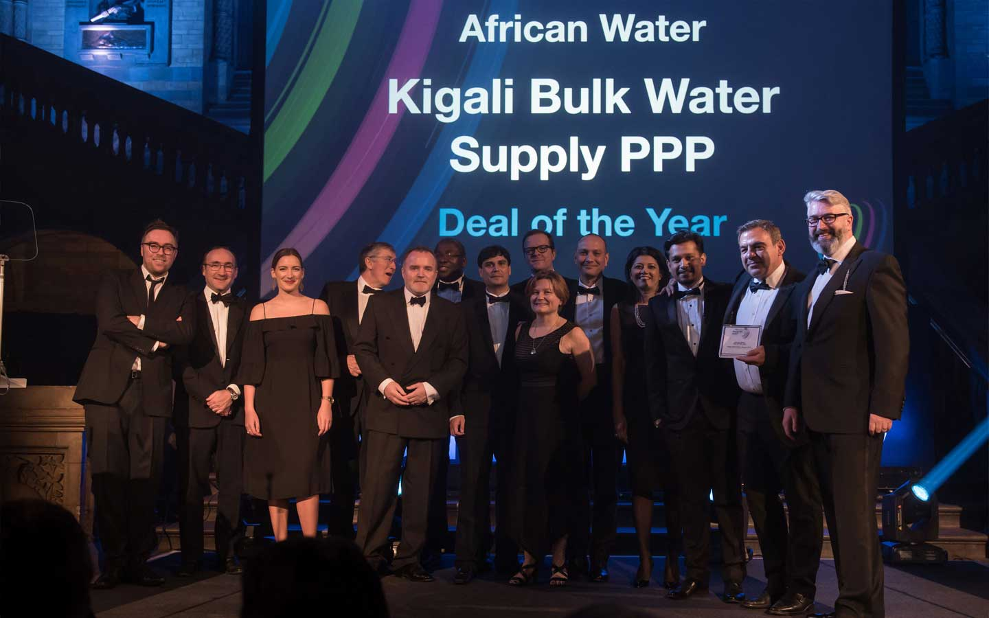 Metito wins the prestigious IJ Global African Water Deal of the Year for Kigali Bulk Water Supply PPP