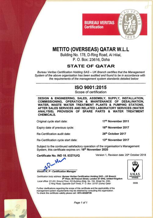 MOQ ISO 9001-2015